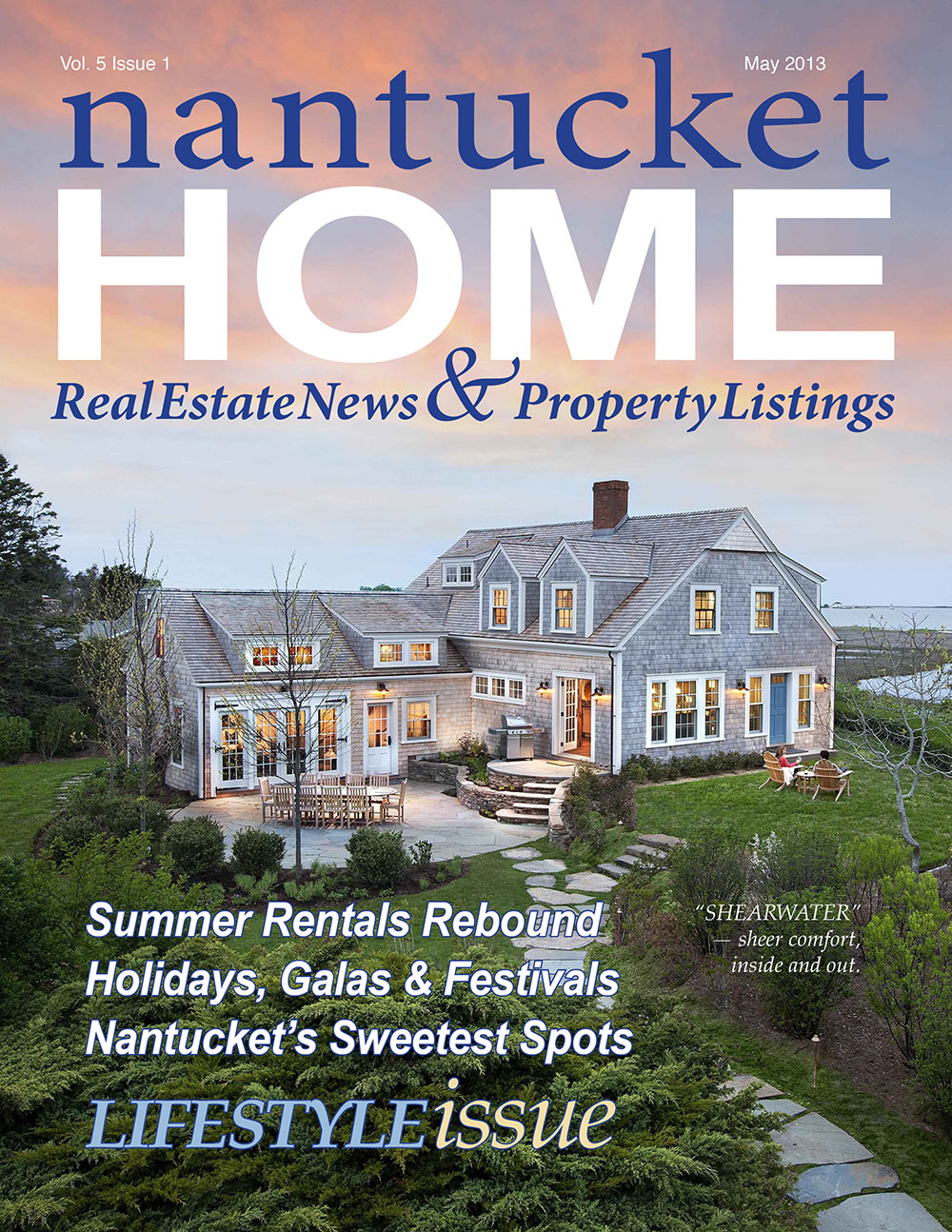 Cottage + Castle featured in Nantucket Home magazine